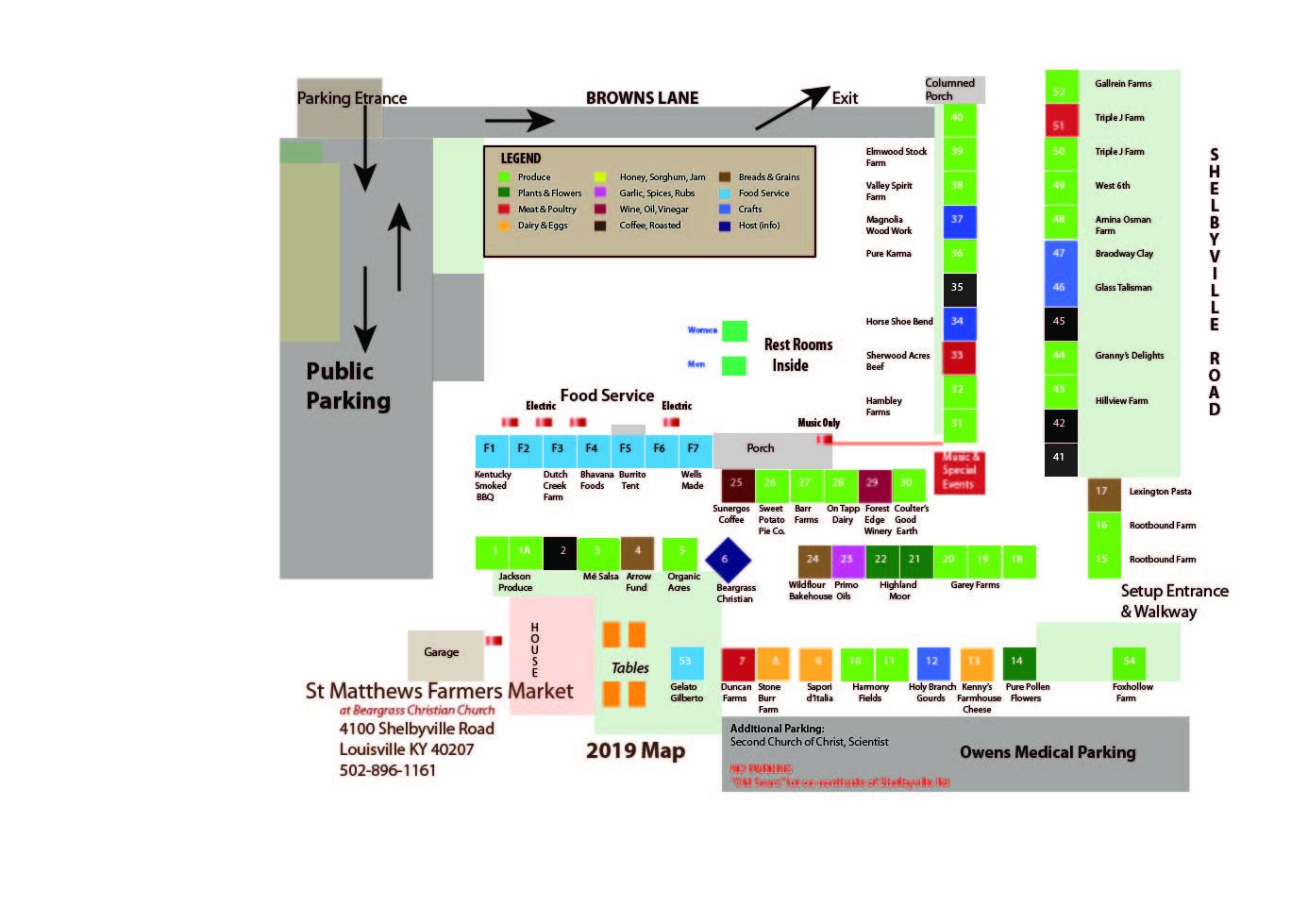 Farmers Market Map